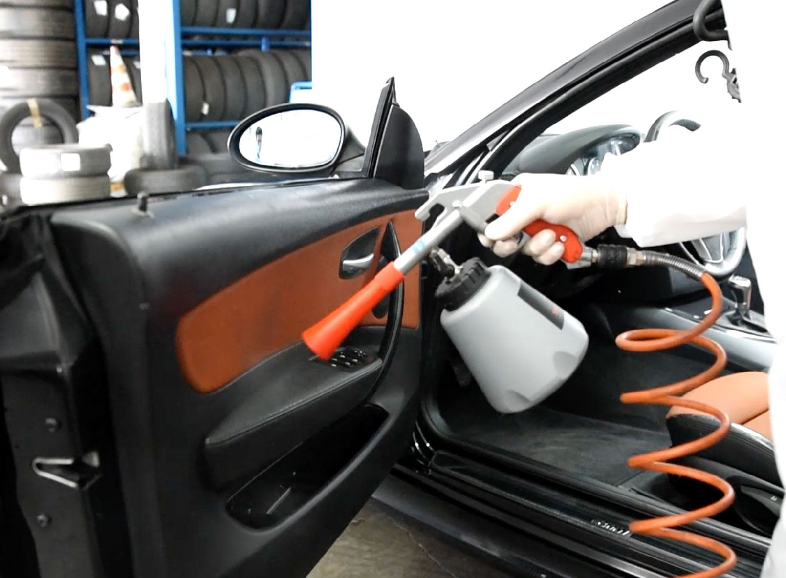 Igienizza il tuo veicolo